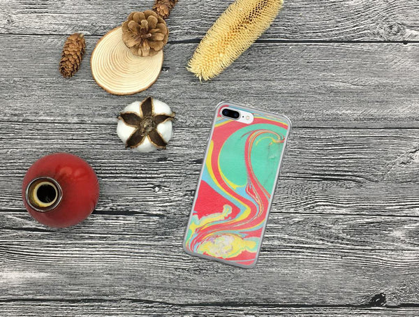 iPhone 8 Plus Case, iPhone 8 Case, iPhone 7 Plus Case, iPhone 7 Case, iPhone 6/6s Case, iPhone 6 Plus/6s Plus Case, Green and Red, iPhone X