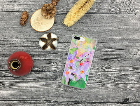 Floral iPhone Case, iPhone 7 Case, iPhone 7 Plus Case, iPhone 8 Case, iPhone 8 Plus Case, iPhone 6/6s, 6/6s Plus Case, iPhone X Case