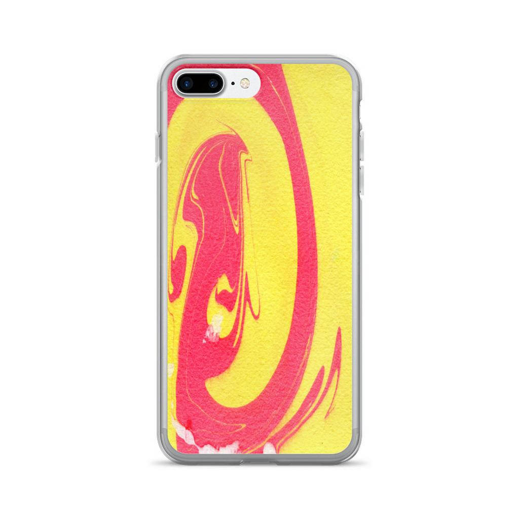 iPhone 6s Plus Case, iPhone 6 Plus Case, iPhone 6s Case, iPhone 6 Case, iPhone 7/7 Plus Case, iPhone 8/8 Plus Case, Yellow Red iPhone X Case