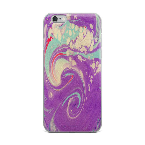 iPhone 8 Plus Case, iPhone 8 Case, iPhone 7 Plus Case, iPhone 7 Case, iPhone 6/6s Case, iPhone 6s Plus Case, Purple Abstract iPhone X Case