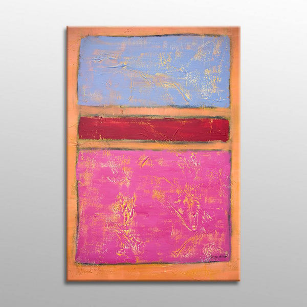 Abstract Painting, Canvas Art, Acrylic Painting, Contemporary Painting, Canvas Wall Art, Pink, Large Abstract Art, Minimalism, Modern Art