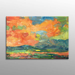 Abstract Landscape Painting, Oil Painting Original, Contemporary Painting, Abstract Painting, Large Painting, Abstract Canvas Painting, Art