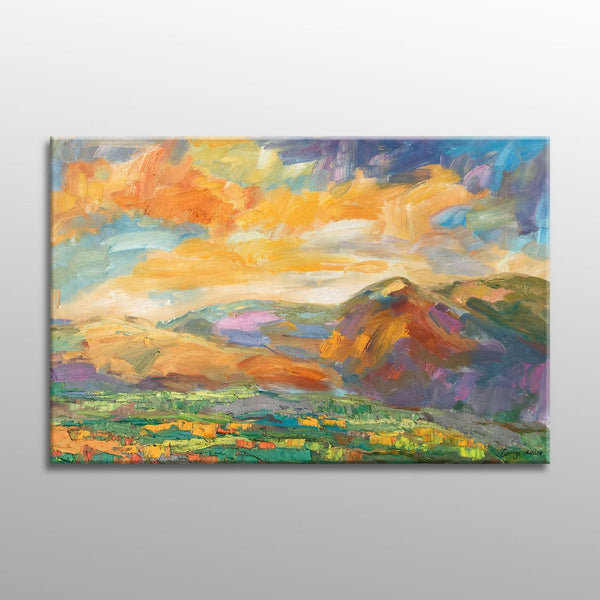 Oil Painting, Large Painting, Original Landscape Oil Paintings, Canvas Painting, Living Room Wall Art, Modern Art, Large Wall Art Canvas