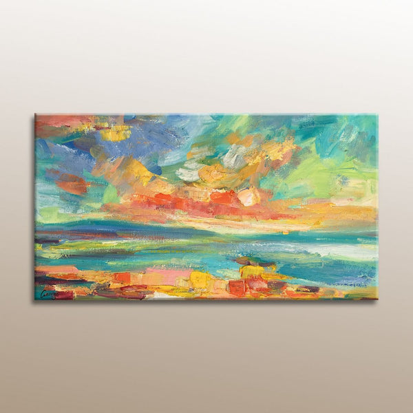 Oil Painting Landscape, Original Landscape Painting, Oil Painting Abstract, Small Canvas Wall Art, Canvas Art, Original Painting, Painting