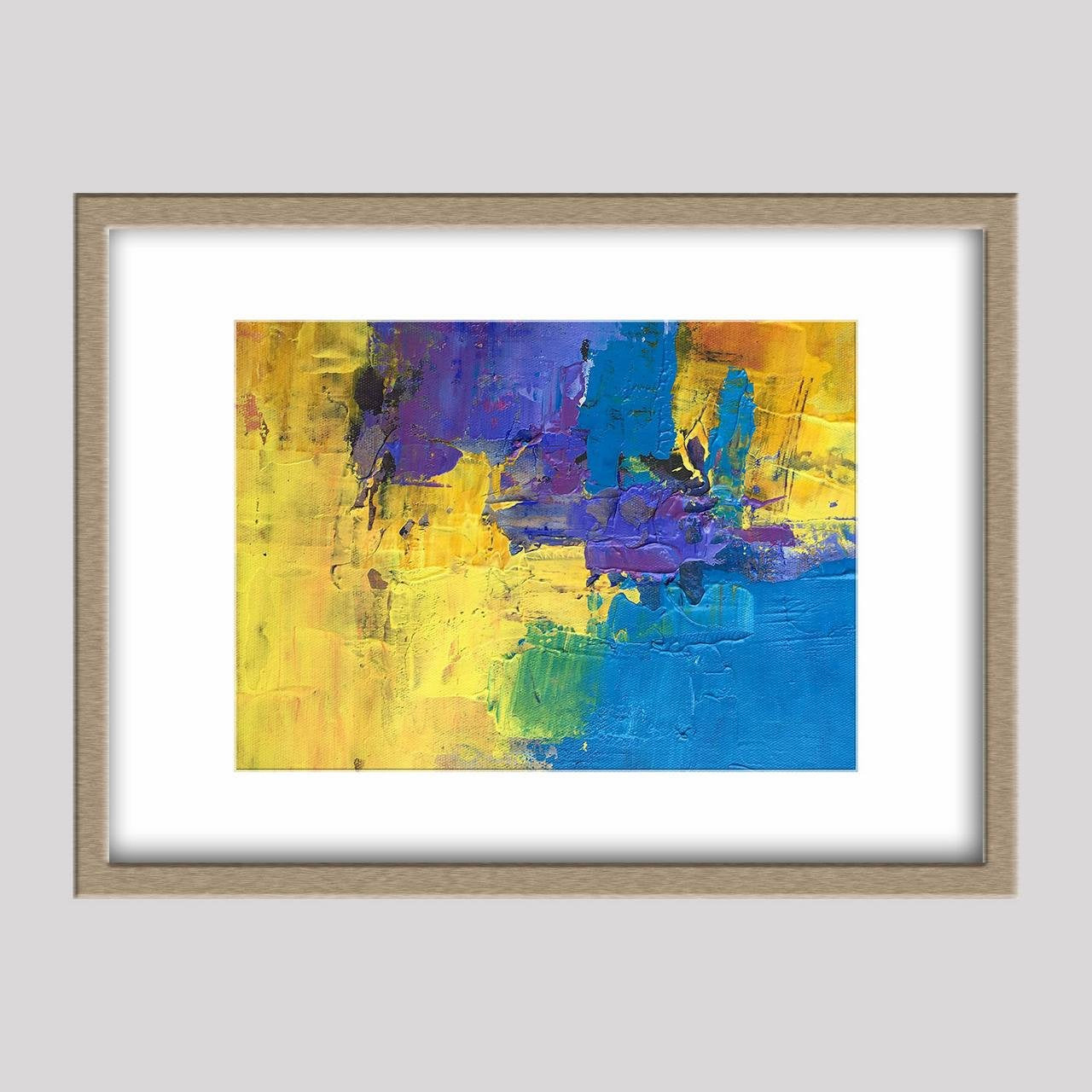 Abstract Oil Painting, Abstract Canvas Painting, Original Artwork, Small Canvas Wall Art, Modern Painting, Small Canvas Painting, Wall Decor
