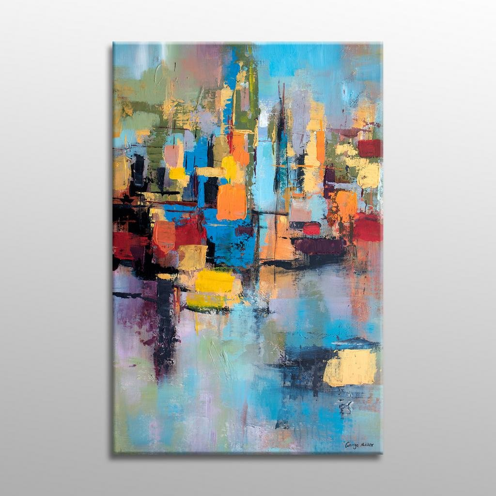 Large Oil Painting, Original Landscape Oil Paintings, Modern Art, Painting Abstract, Original, Abstract Wall Art, Living Room Wall Decor