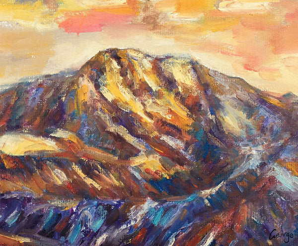 Landscape Painting, Oil Painting, Abstract Canvas Painting, Abstract Oil Painting, Oil Painting Landscape, Contemporary Art, Moutain