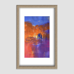 Small Abstract Art, Canvas Painting, Oil Painting Original, Wall Art, Bathroom  Wall