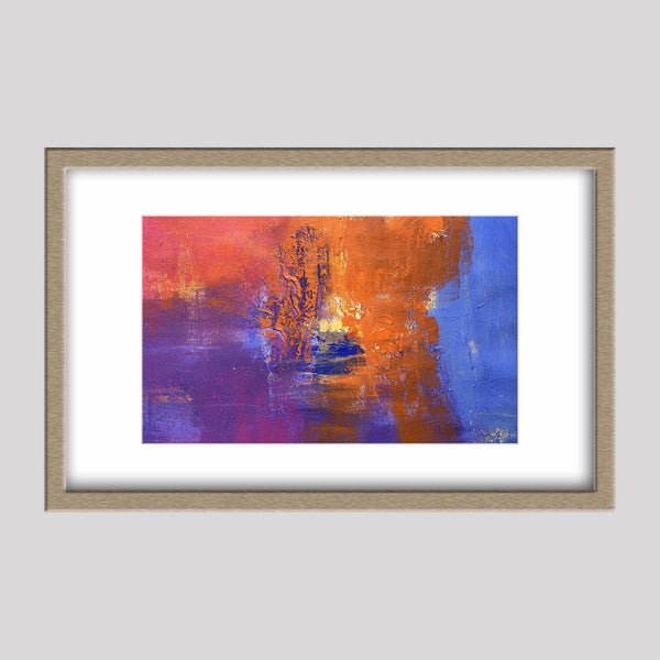 Small Abstract Art, Canvas Painting, Oil Painting Original, Wall Art, Bathroom Wall Decor, Contemporary Art, Oil Painting Abstract