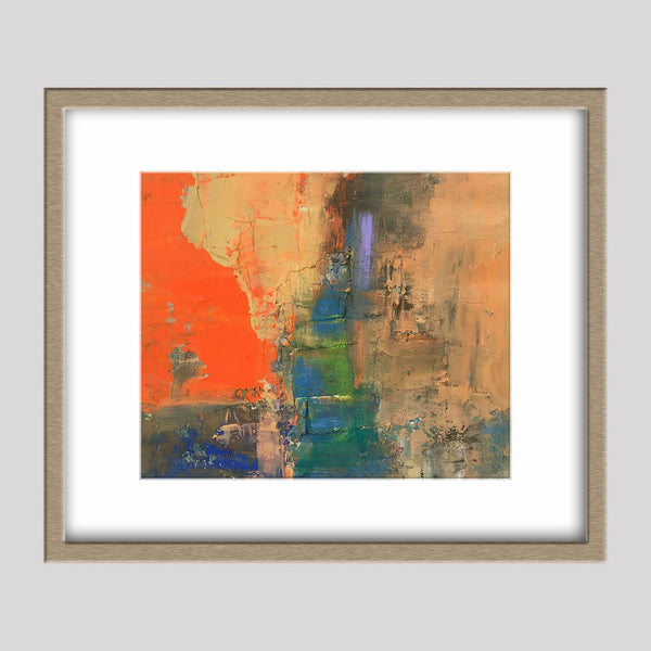 Abstract Painting, Oil on Canvas, Original Painting, Wall Decor, Abstract Canvas Art, Small Painting, Contemporary Painting, Abstract Art