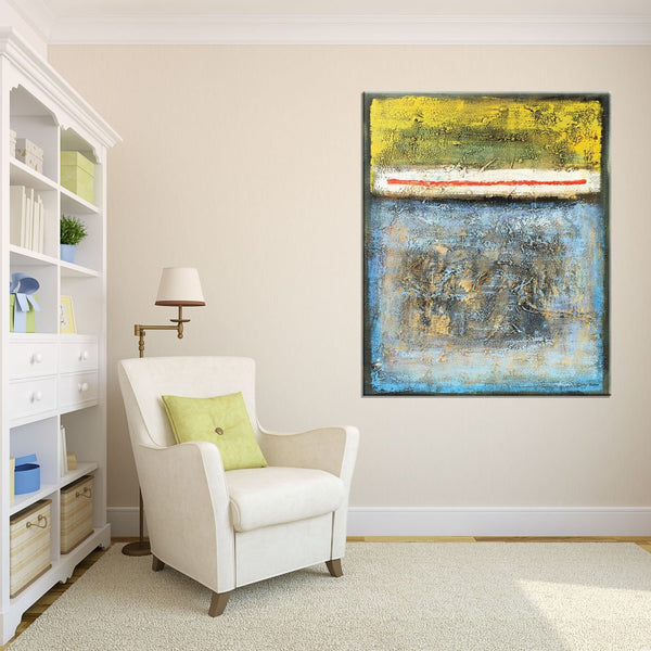 Oil Painting, Abstract Painting, Wall Decor, Original Painting, Abstract Landscape, Abstract Canvas Art,Palette Knife Art, Abstract Art