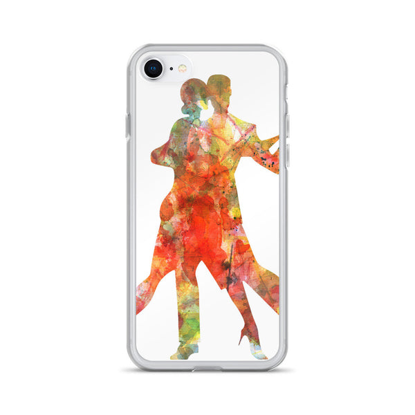 Tango Dance Watercolor iPhone 6/6s, 6/6s Plus Case, iPhone 7 Case, iPhone 7 Plus Case, iPhone 8 Case, iPhone 8 Plus Case, iPhone X Case
