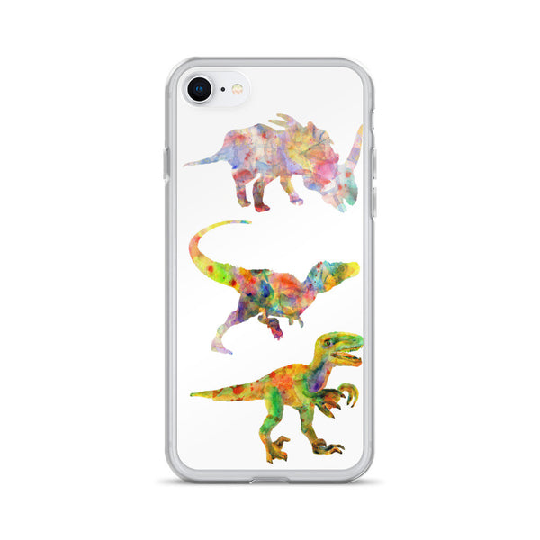 Dinosaurs iPhone Case, iPhone 7 Case, iPhone 7 Plus Case, iPhone 8 Case, iPhone 8 Plus Case, iPhone 6/6s, 6/6s Plus Case, iPhone X Case