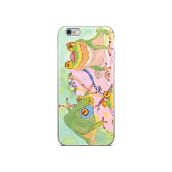 iPhone Cases, iPhone 7/7 Plus Case, iPhone 8/8 Plus Case, iPhone 6 Case, iPhone 6s Case, iPhone 6s Plus Case, iPhone X Case, Green Frogs