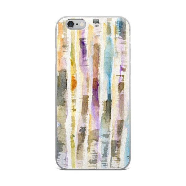 Birch Forest iPhone Case, iPhone 7/7 Plus Case, iPhone 8/8 Plus Case, iPhone 6 Case, iPhone 6s Case, iPhone 6s Plus Case, iPhone X Case