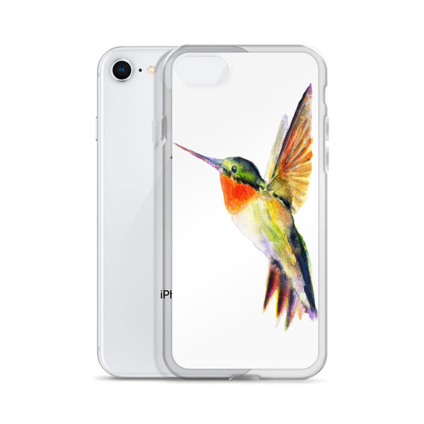 Hummingbird iPhone Case, iPhone 7 Case, iPhone 7 Plus Case, iPhone 8 Case, iPhone 8 Plus Case, iPhone 6/6s, 6/6s Plus Case, iPhone X Case