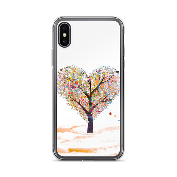 Love Tree iPhone Case, iPhone 7/7 Plus Case, iPhone 8/8 Plus Case, iPhone 6 Case, iPhone 6s Case, iPhone 6s Plus Case, iPhone X Case