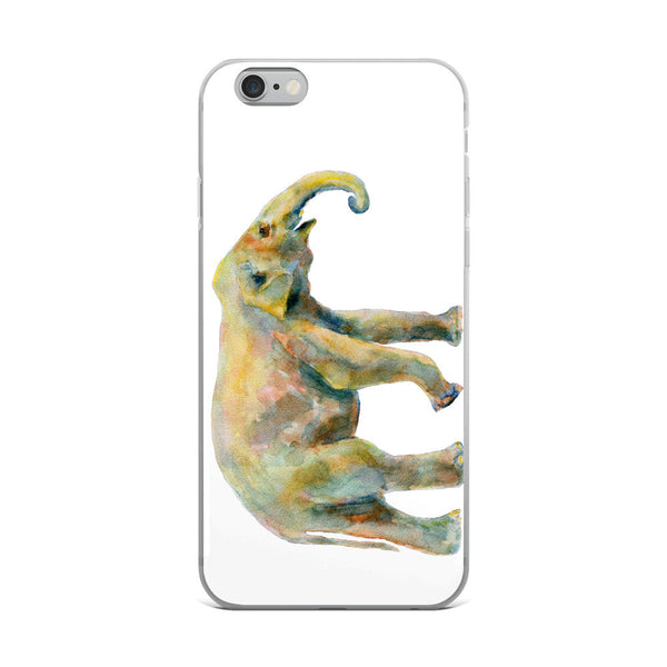 Elephant iPhone Case, iPhone 7/7 Plus Case, iPhone 8/8 Plus Case, iPhone 6 Case, iPhone 6s Case, iPhone 6s Plus Case, iPhone X Case