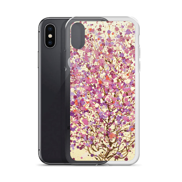 Abstract Floral iPhone Case, iPhone 6 Case, iPhone 6s Case, iPhone 6s Plus Case, iPhone 7/7 Plus Case, iPhone 8/8 Plus Case, iPhone X Case