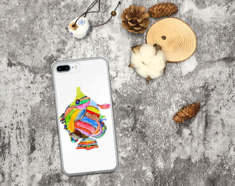 iPhone 6 Case, iPhone 6s Case, iPhone 6s Plus Case, iPhone 7/7 Plus Case, iPhone 8/8 Plus Case, iPhone X Case, Tropical fish iPhone Case