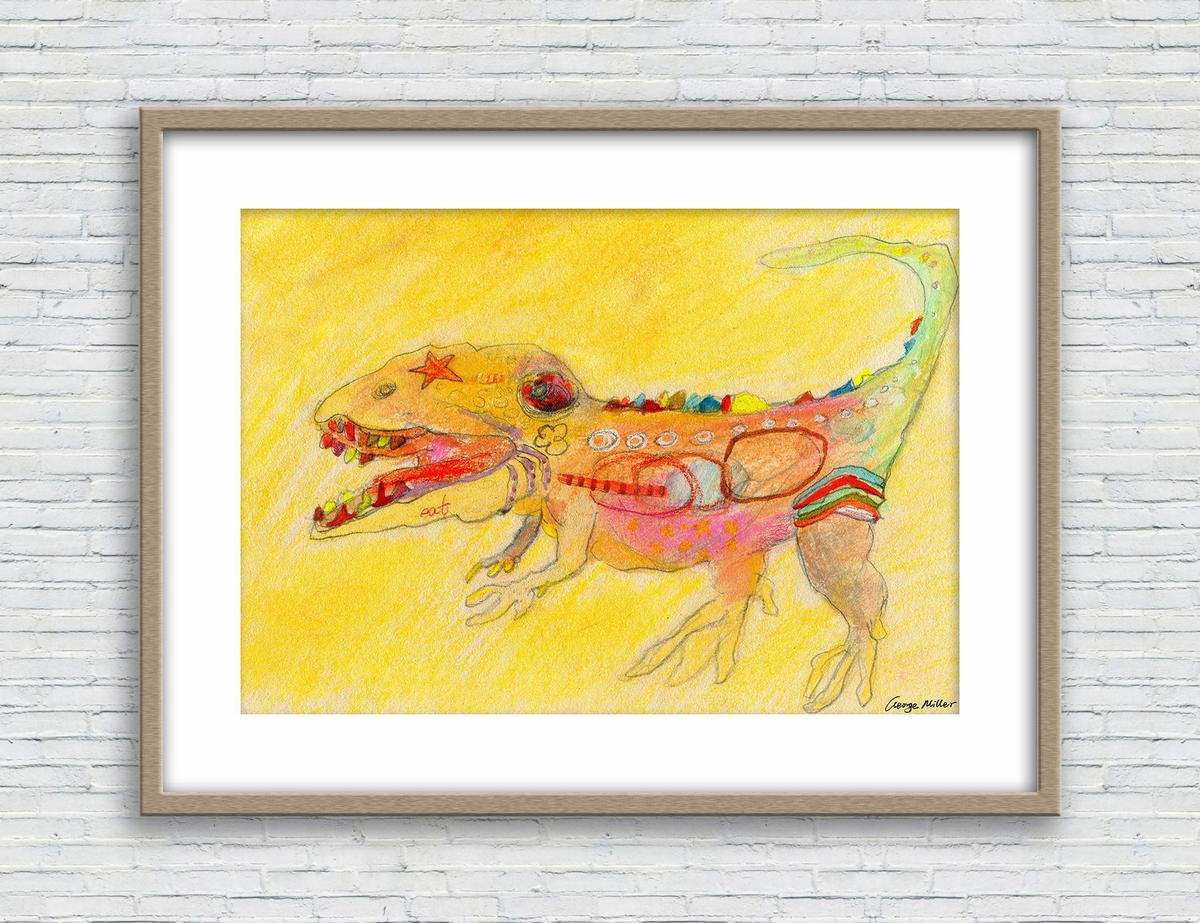 Dinosaur Print, Kids room decor, Watercolor Print, Wall Decor Living Room, Abstract Watercolor Print, Art Prints Watercolor, Artwork
