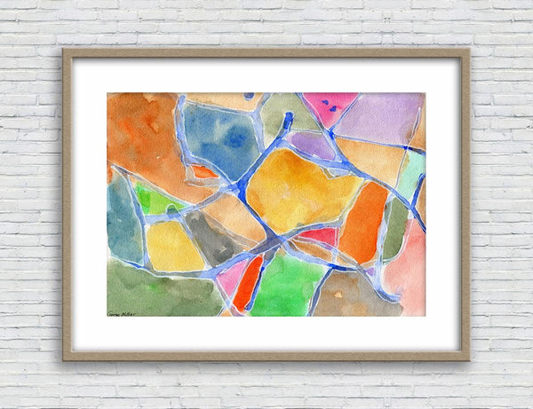 Print, Abstract Watercolor Print, Wall Art Abstract, Abstract Painting, Art Print Watercolor, Artwork Original, Modern Art, Modern Art