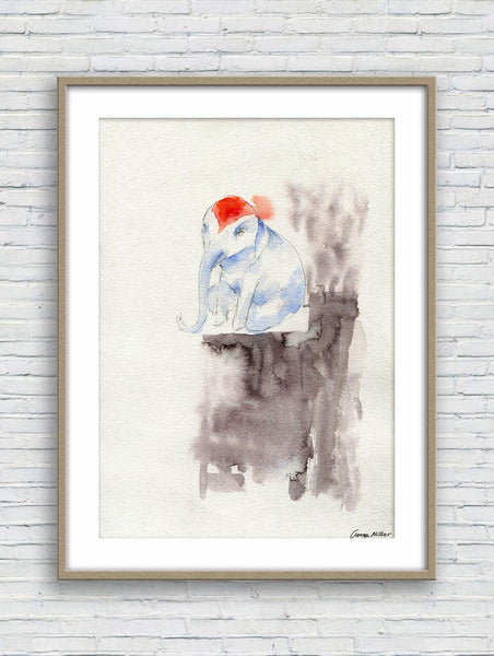 Print Art, Watercolor Art, Wall Art Prints, Abstract Wall Art, Art Prints Watercolor, Artwork And Prints For Walls, Little Elephant
