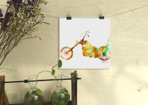 Motorbike Print Art, Watercolor Print, Wall Prints, Abstract Print, Art Prints Watercolor, Artwork Original, Modern Art Print, Original Art