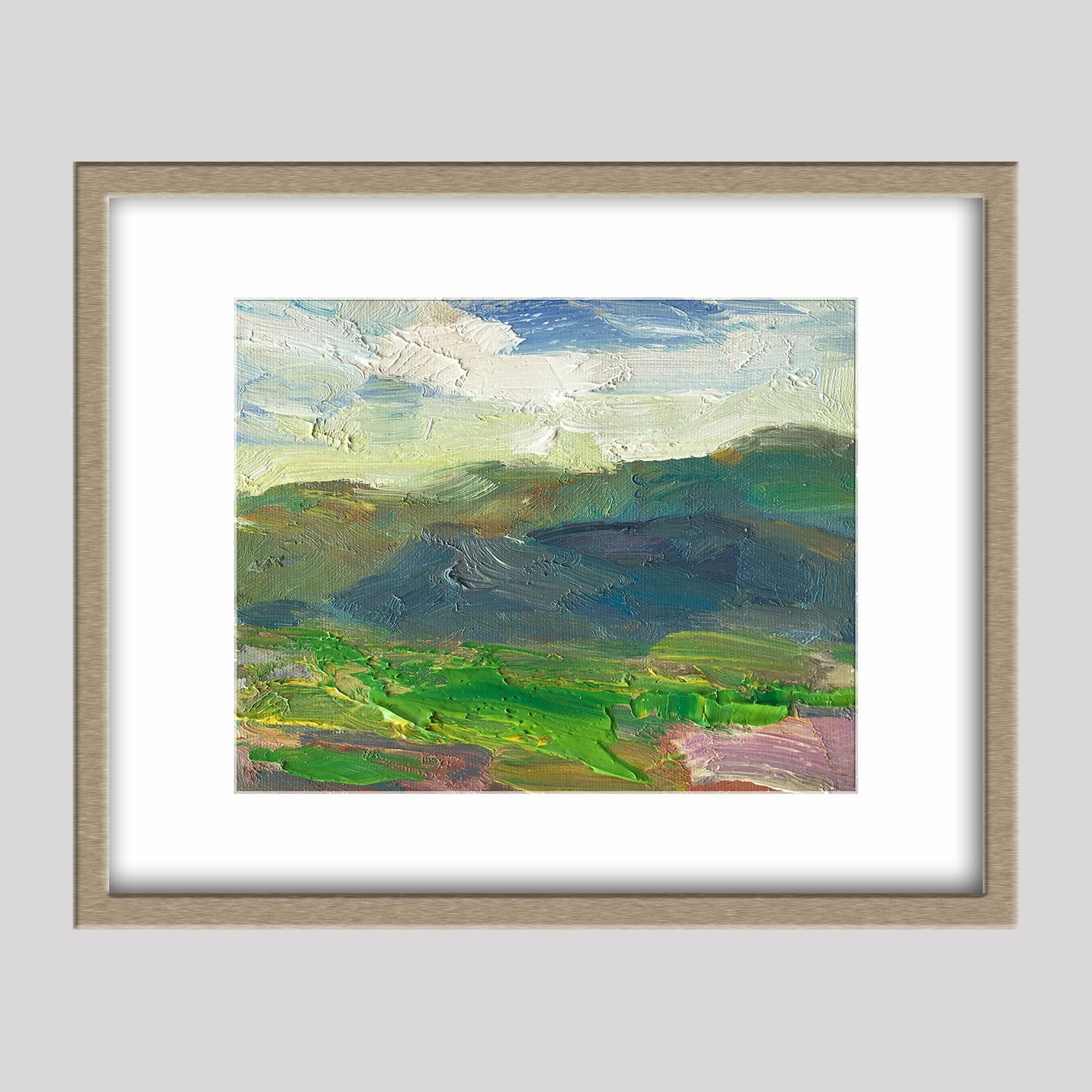 Landscape Painting Living Room Decor Small Abstract