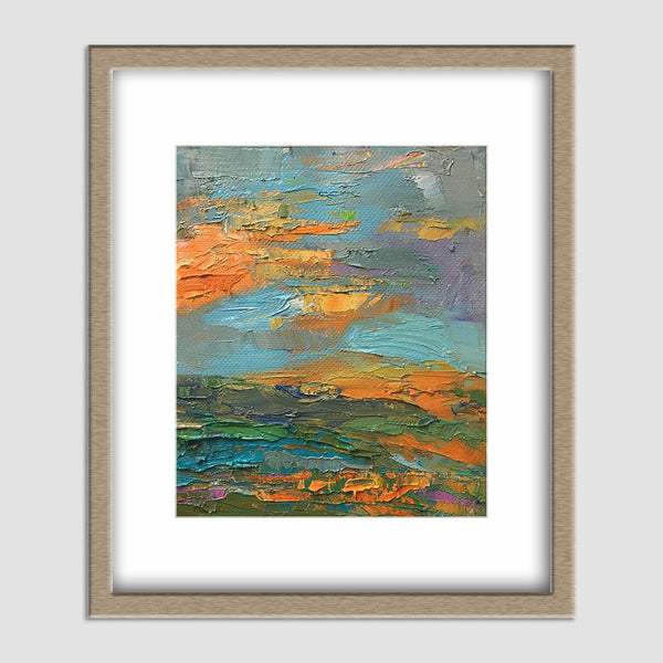 Abstract Art, Small Art, Original Artwork, Contemporary Wall Art, Kitchen Art, Original Landscape Oil Paintings, Canvas Art, Modern Art