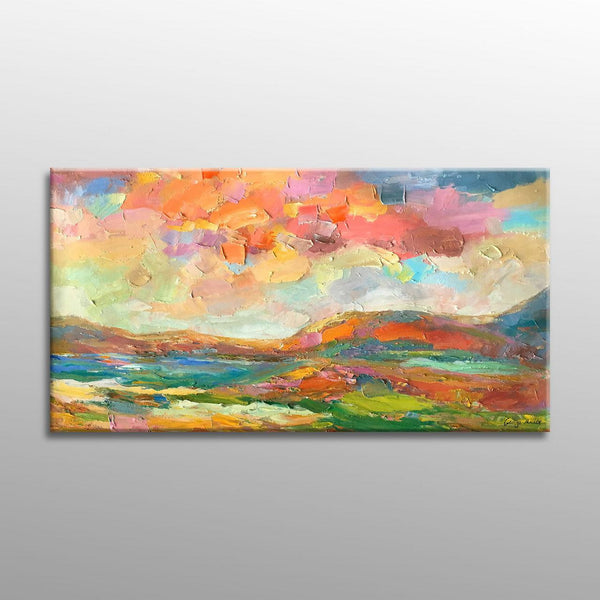 Oil Painting, Landscape Painting, Abstract Art, Original Painting, Modern Art, Contemporary Wall Art, Canvas Painting, Large Oil Painting