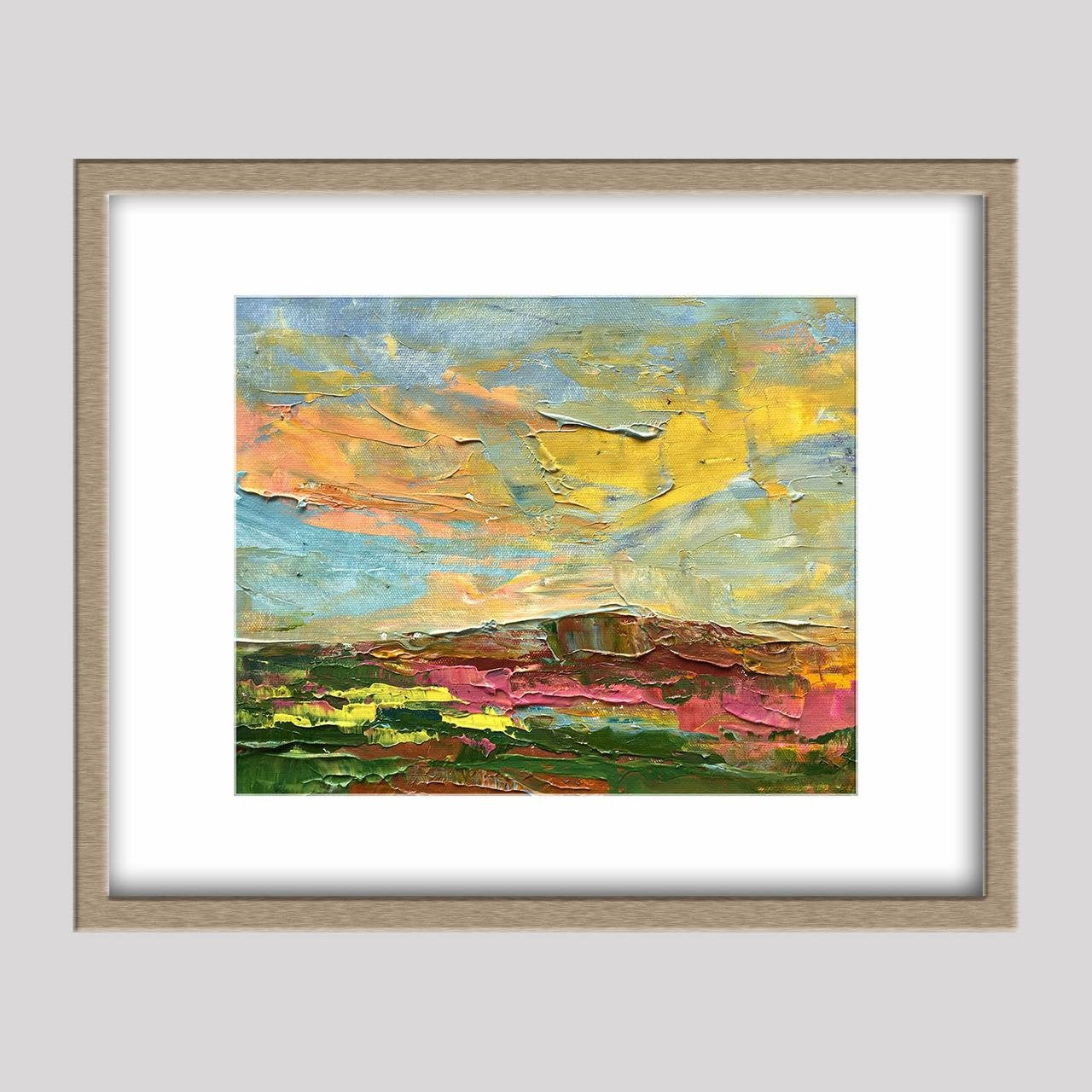 Abstract Oil Painting, Original Landscape Oil Paintings, Living Room Decor, Abstract Canvas Art, Original Abstract Art, Small Abstract Art