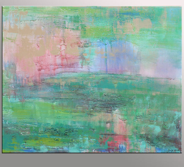 Abstract Canvas Painting, Modern Wall Art, Oil Painting Abstract, Large Canvas Art, Oil Painting Original, Powder Room Art, Modern Painting