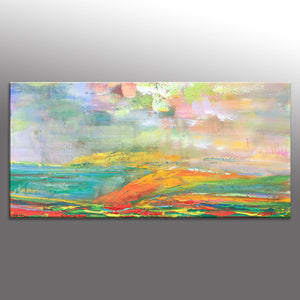 Landscape Painting, Abstract Canvas Painting, Contemporary Art, Large Abstract Art, Oil Painting Abstract, Living Room Wall Decoration