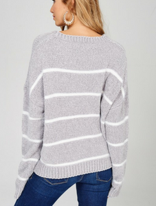 Give Me All The Stripes Sweater