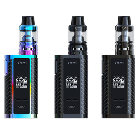 iJoy Captain PD1865 with Captain S Sub-Ohm Tank Starter Kit Without BATTERIES