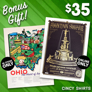 It's Cincy Shirts' Christmas Bonus Gift!