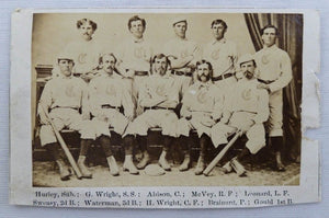 The Early History of the Cincinnati Reds