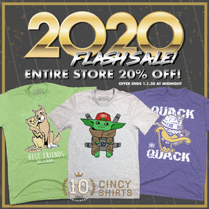 Ring In The New Year With Our 2020 Flash Sale!