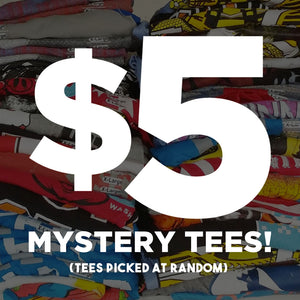 $5 Mystery Tees Are Back!