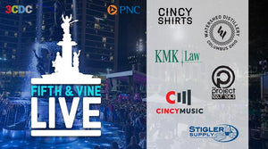 Cincy Shirts and Fifth & Vine Live at Fountain Square!