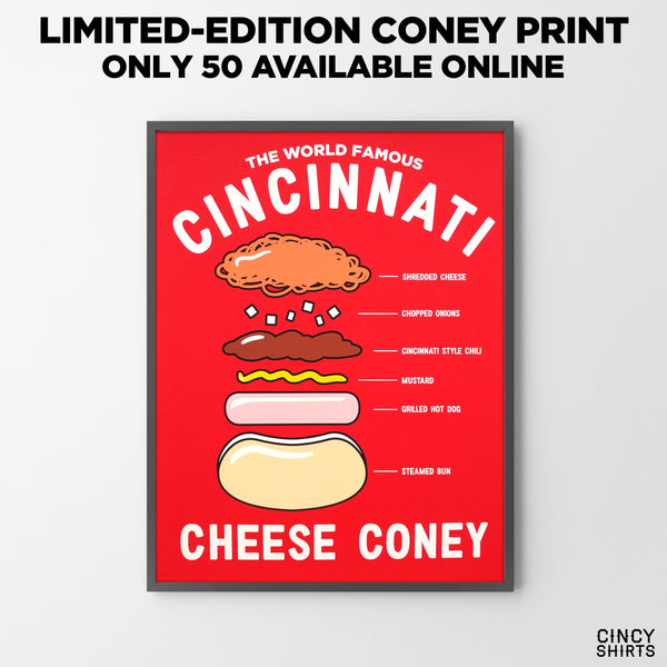 LIMITED-EDITION Cheese Coney Prints Available Now!