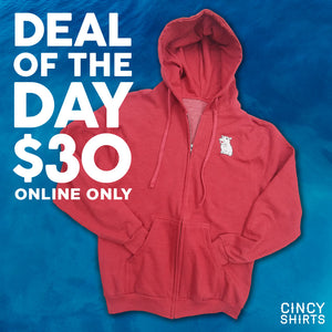 Deal of the Day: $30 Fiona Zip-Up Hoodie!