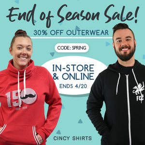It's Our End of Season Sale!