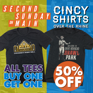 August's Second Sunday on Main at Cincy Shirts OTR!