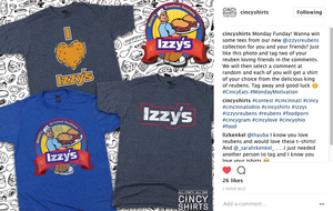 Wanna Win Some Free Izzy's Swag?