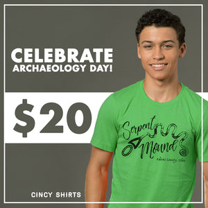 $20 Tees for Archaeology Day!