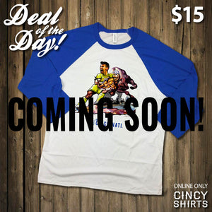 Stay Tuned This Holiday Season for Cincy Shirts' Deal of the Day!