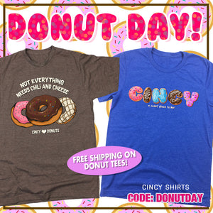 Free Shipping on Donut Tees!