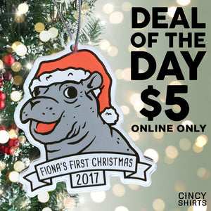 For Today Only, Get Our Fiona Ornament for $5!